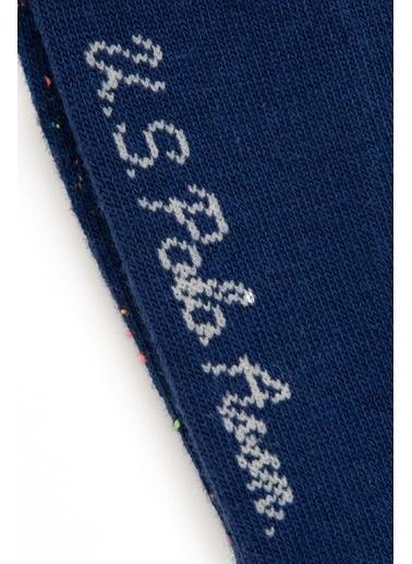 U.S. Polo Assn. 2'li Çorap Lacivert